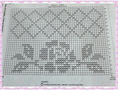 Amor por Art em Crochê - Veja tapetes, gráficos, pontos e receitas em crochê