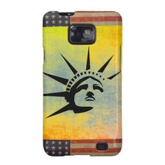 Lady Liberty Galaxy S2 Cover #StatueOfLiberty #Statue #Liberty #Freedom #Mobile #Phone #Samsung #Case #Cover
