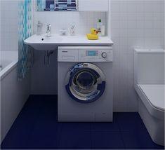 Раковина над стиральной машиной - Дизайн интерьеров   Идеи вашего дома   Lodgers
