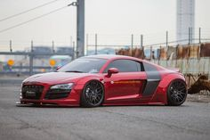 Liberty Walk Audi R8 on Forgiato Wheels - Motorward