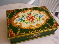 Caixa de bijoux em Bauernmalerei ♥