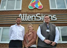Allen Signs Team Now Bigger than Ever - BSGA - British Sign & Graphics Association