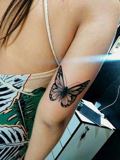 Mini Tattoos, Body Art Tattoos, Small Tattoos, Sleeve Tattoos, Butterfly Tattoos For Women, Arm Tattoos For Women, Piercing Tattoo, Piercings, Neue Tattoos