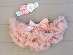 Sweet as a Peach Infant Petti Skirt