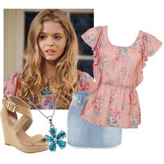 Alison DiLaurentis by agathapedotte on Polyvore featuring Forever 21, River Island, Steve Madden and EWA