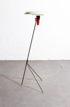 Louis Kalff x Philips // NX 38 Floor Lamp for Philips, 1957