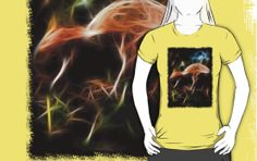 An impressionistic digital painting of mushrooms growing in the undergrowth. autumn, flora, fungi, grass, leaves, mushroom, twigs, undergrowth, bracken, fall, damp, dark, darkness, rot, rotting, riverside, river bank, glow, neon, shine, elves, fairy, fairies, toadstool, magic, spells, spell, mushrooms, hallucinogenic