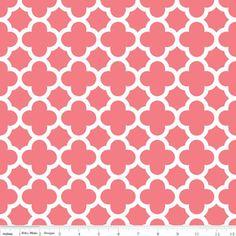 Riley Blake Designs: C435-54 CORAL