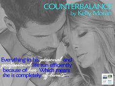 Counterbalance by Kelly Moran. OUT NOW!