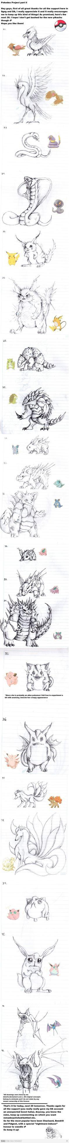 Pokemon re-imagined part 2