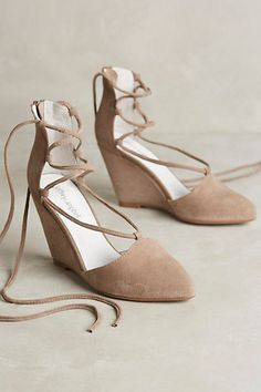 Jeffrey Campbell Ouverte Wedges #anthropologie