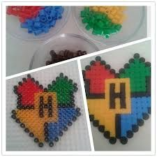 perler beads harry potter - Google Search