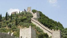 Marostica, il Castello Superiore - Veneto. 45°44′44″N 11°39′19″E