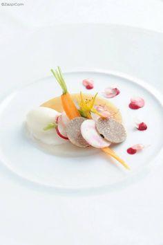 Coquille Saint-Jacques, sorbet thym citron: