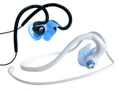 After four years, Underwater Audio designs a breakthrough product: 100% waterproof and these earbuds don't get yanked out of your ears!