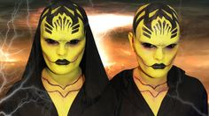 D'Vorah - Mortal Kombat X - Makeup Tutorial!