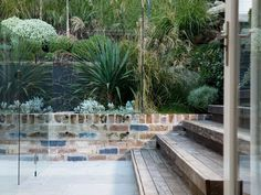 Landart Landscapes creates a the perfect place to retreat and relax. See one of our Bilgola projects here! Backyard Retaining Walls, Retaining Wall Design, Driveway Paving, Corner Landscaping, Landscaping Jobs, Landscaping Design, Pool Plants, Fence Plants, Garden Landscape Design