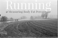 running and measuring body fat percentage with the skulpt aim device