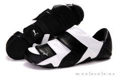 Men's Puma Mummy Low Shoes - White / Black