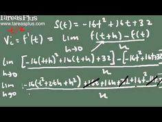 la derivada y velocidad instantánea parte 2 (ejemplo)