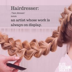 Don't be afraid to show your work, and be proud! #salonmarketing