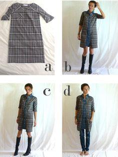 Платье из рубашки (2 DIY) / Рубашки /