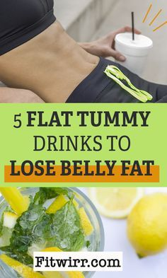 5 best flat tummy drinks to lose belly fat fast for women. #losetummyfat #detoxbellyfatdietdrinks #losebellyfatdrinks