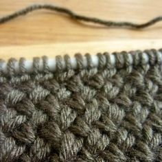 comment tricoter le point de vannerie                                                                                                                                                                                 Plus
