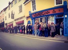 Norwich Lanes are evidence if you needed it that the 'pedestrian pound' is a powerful thing. On Record Store Day 2014 Soundclash on St Benedict's Street had a huge queue all day.  http://www.livingstreets.org.uk/make-a-change/library/the-pedestrian-pound-the-business-case-for-better-streets-and-places