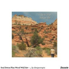 Soul Detox Plan Wood Wall Art - Go To Zion