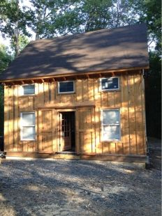 Timber Frame Cabin by bunkersnag http://www.cabinbuilds.net/timber-frame-build-by-bunkersnag