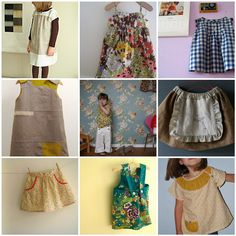 Everything especially the ice-cream dress (Oliver & S pattern) and the milk maid skirt.