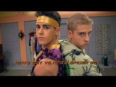 ▶ The Next Step Halloween Dance Battle - Ninja Boy vs. Halloween Dance, The Next Step, Tv Quotes, Studio, Favorite Tv Shows, Actors, Spider, Boys, Youtube