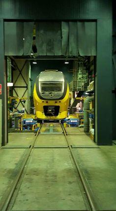 VIRM 9468 in de Kwb te Eindhoven.