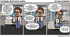DataGeek helps data model...