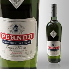 Pernod Absinthe, at 136-proof, packs a punch behind it's delicious taste. Learn more about Pernod Absinthe at Liquor.com.
