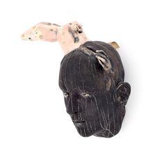 Cristina Cordova (American, b. 1976), ceramic sculpture, 2003, signed