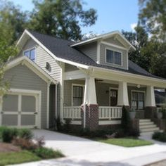 Attractive Covered Front Porch · Craftsman Style Design, Pictures, Remodel, Decor And  Ideas   Gallery