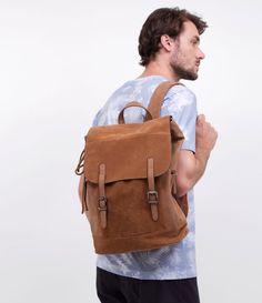 da2f908ef 16 melhores imagens da pasta bolsas masculinas couro | Leather ...