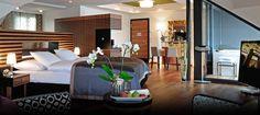 Zimmer im Art Deco Hotel Montana