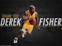 Derek Fisher Lakers Thank You 1920x1200 Wallpaper