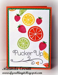If You Bling It: Stampers with an Attitude National Scrapbooking Month Taste of Summer Blog Hop