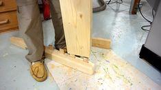 Diy Como hacer una cama de dos plazas de madera pino fácil de hacer Bed Dimensions, Ideas, Wood, Bed Making, Cots, Wood Projects, Pine, Furniture Design, Bike