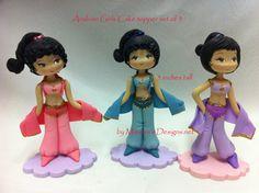Arabian Cake Topper set of 3