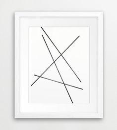 Abstract Line Printable File, Geometric Art Minimalist Grey Black And White - Modern Wall Art Home Decor Digital Print Instant Download Art
