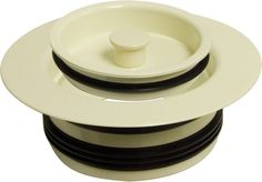 Monogram Brass MB-DF-200 Decorative Push-In Disposal Flange And Stopper
