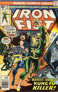 Marvel in the '70s: Kung Fu heroes? Yup.