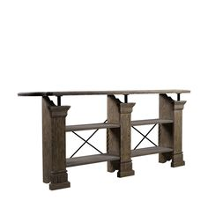 X-TIPTON CONSOLE - Coffee & Accent Tables - LIVING ROOM