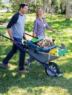 Little Burro Wheelbarrow Organizer