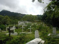 The cemetery is the final resting place of French Post-Impressionist painter Paul Gauguin.